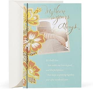 Hallmark Mahogany Religious Anniversary Card for Spouse (God's Love Makes Our Love Good)