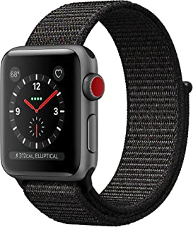 Apple Watch Series 3 42mm (GPS + Celular) - Caja De Aluminio En Gris Espacial / Negro Correa Deportiva (Reacondicionado)