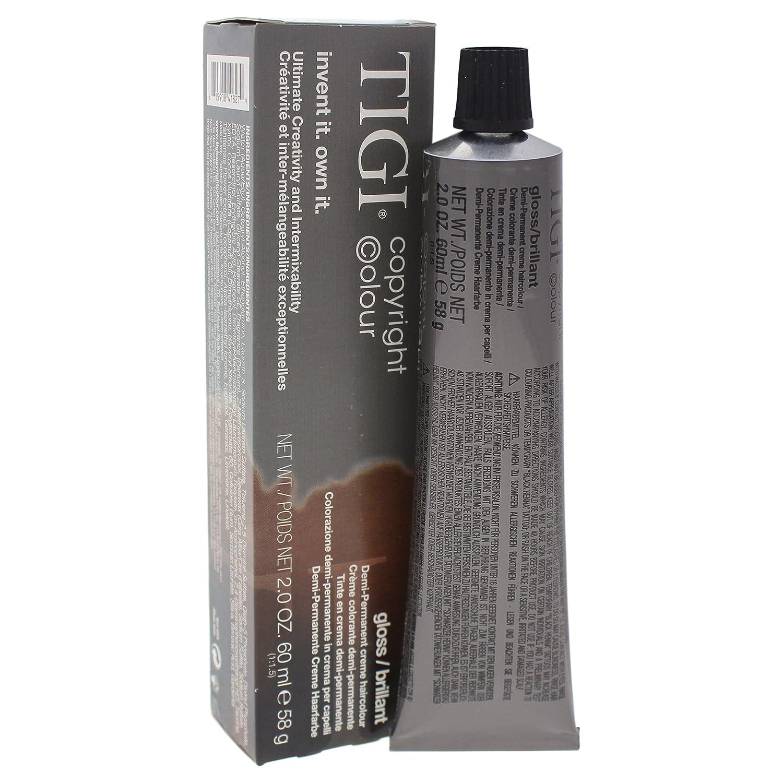 Tigi Colour Gloss Creme Hair Color for Nat 5 Light Under blast sales 5% OFF 0 Unisex No.