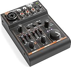 Table de mixage Audio USB Carte Son Externe Casque Carte Son en Direct karaok/é Carte de mixage de Son Bluetooth changeur de Voix pour la Diffusion en Direct Hyuduo1 Carte Son V9 en Direct