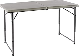 Coleman 1377570 Deluxe Utility Table, Charcoal Grey