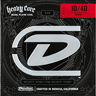 Dunlop DHCN1048 Heavy Core Guitar Strings, Heavy, .010–.048, 6 Strings/Set