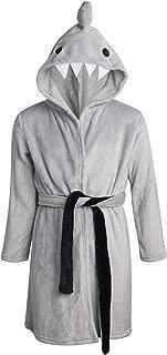 Plush Solid Fleece Robe with Character Hood (Toddler/Little Boys/Big Boys)