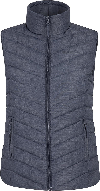 Body warmer Waistcoat Gilet Quilted Padded Multi pocket New Moleskin Feel Warm