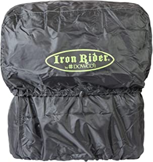 Dowco Iron Rider 50149-00 Waterproof Motorcycle Luggage Rain Hood: Black, Universal Fit