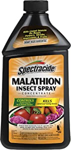 Spectracide HG-30900 Malathion Insect Killer, 32-Fluid Ounce, 32 oz, Brown/A