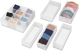 Whitmor Drawer Organizers Set of 6