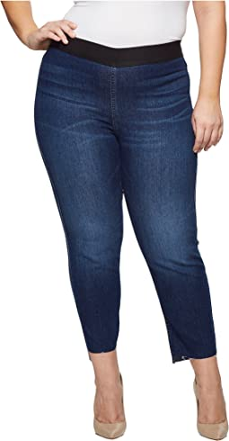 Karen Kane Plus - Plus Size Step Hem Jeggings