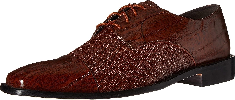 Stacy Adams Men's Men's Gatto Leather Sole Cap Toe Oxford, Mustard, 11 M US  Online einkaufen