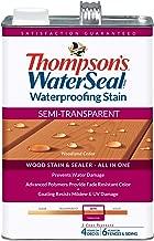 THOMPSONS WATERSEAL TH.042851-16 Semi-Transparent Waterproofing Stain, Woodland Cedar