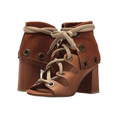 See by Chloe SB30072 (Velvet Calf/Cuoio) High Heels