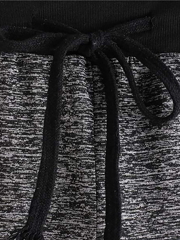 Avanova Womens Tie Dye Shorts Elastic Waist Casual Yoga Running Workout Active Shorts