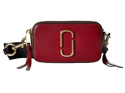 Marc Jacobs Snapshot (Deep Maroon/Graphite) Handbags