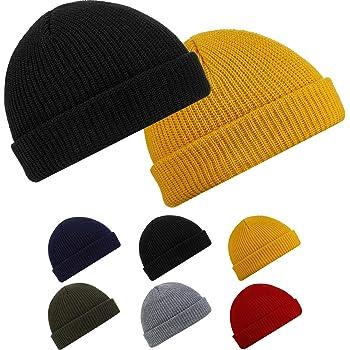 COJOP Watercolor Gymnastics Gym Winter Beanie Unisex Cuffed Plain Skull Knit Hat Cap