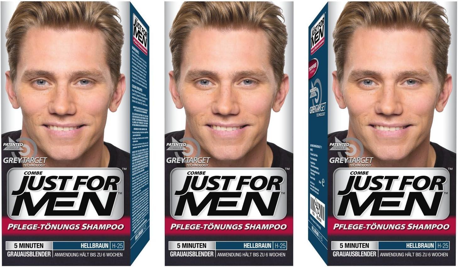 Tinte para el cabello Just for Men (champú, tinte ...