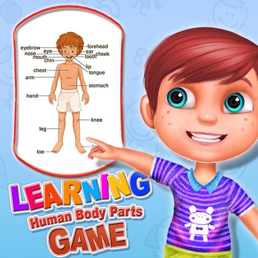 Partes del cuerpo humano - ¡Manera de la diversión de aprender la biología humana para los cabritos!
