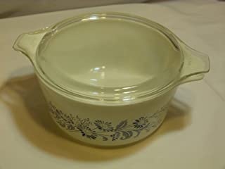 Pyrex Colonial Mist 474-B Casserole Dish