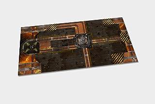Molten Core - Tapete para Wargames (3x6 (92x183cm))