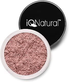 IQ Natural Premium Mineral Beauty Powder Radiant Rose Bronzer Large 5g New!