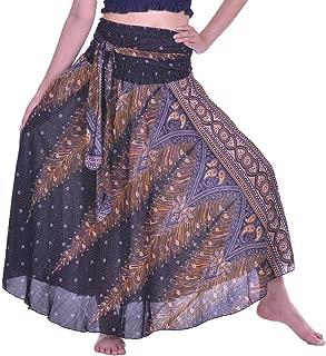 Long Maxi Skirts for Women Gypsy Hippie Clothes Bohemian Boho Dress Plus