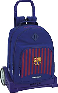 FC Barcelona Mochila Grande Ruedas, Carro, Trolley.