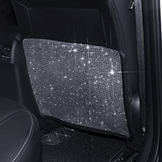 eing Premium Quality Car Seat Protector Mat Best Waterproof Protection of Your Upholstery from Dirt, Mud, Scratches - Luxury Bling Car Seat Back Covers, 1PC - Pure White