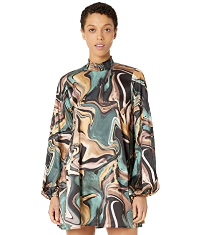 Show Me Your Mumu Junebug Dress (Miss Marble Luxe Satin) Women