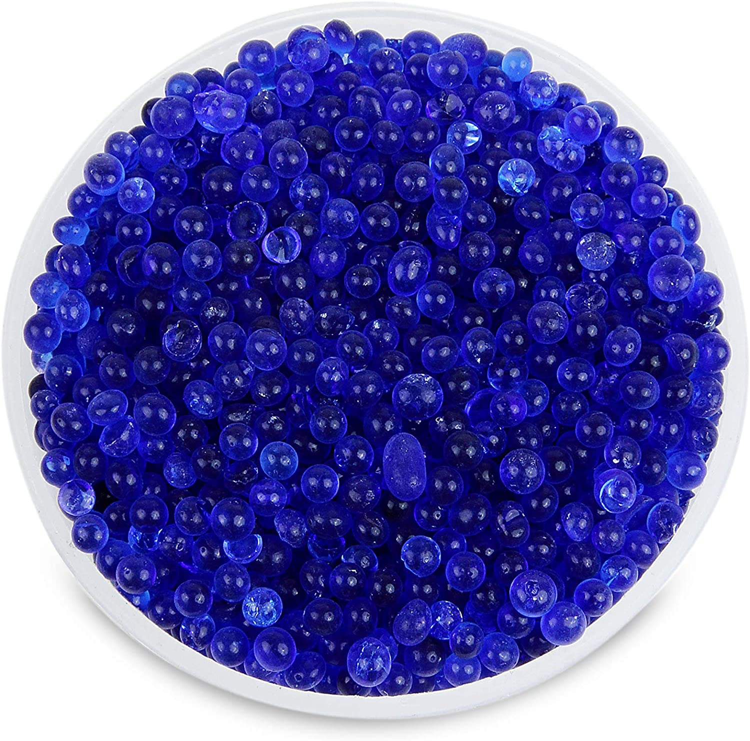 Wisesorb 8LBS Premium Quality Reusable Indicating Silica Gel Desiccant Beads-Rechargeable Blue to Pink