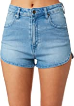 Wrangler Women's Pin Up Short Cotton Fitted Elastane Blue