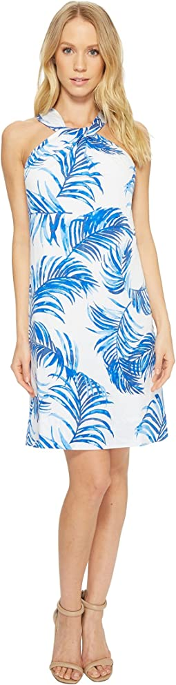 Fuller Fronds Short Dress