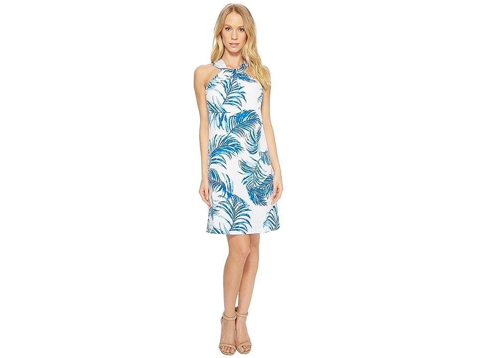 Tommy Bahama Fuller Fronds Short Dress (Cobalt Sea) Women