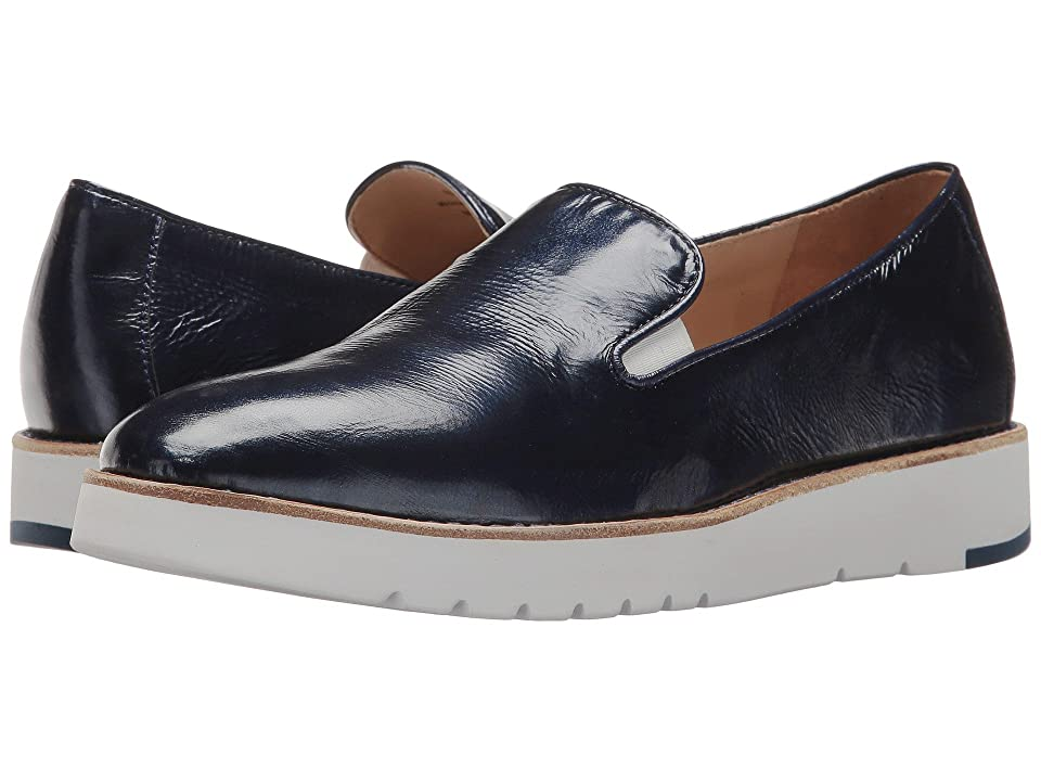 Johnston & Murphy Penelope (Navy Crinkle Patent Leather) Women