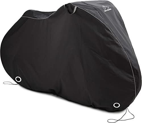 TeamObsidian Bike Cover - Waterproof Outdoor Bicycle Storage for 1 or 2 Bikes - Heavy Duty Ripstop Material - Offers ...