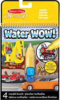 Melissa & Doug On the Go Water Wow! Reusable Water-Reveal Activity Pad - Vehicles