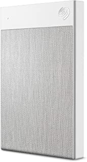 Seagate STHH2000402 2TB Backup Plus Ultra Touch Portable White 2 Year Data Recovery Service included