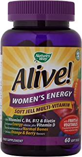 Alive! Women's Energy Soft Jells - 60 soft jells
