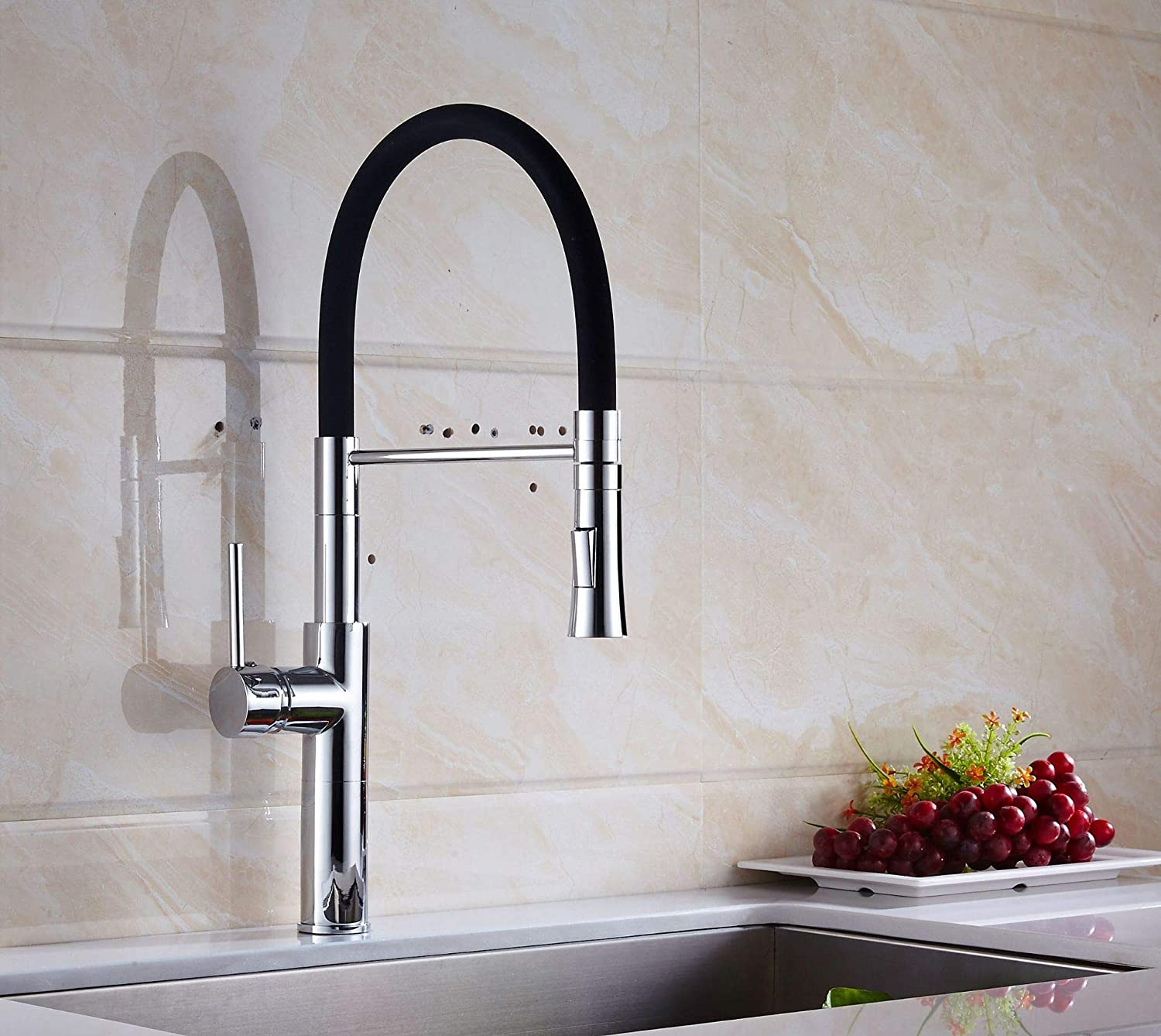 redOOY Taps Faucet Kitchen Kitchen Faucet Kitchen Faucet Basin Single Hole redating Spring Paint