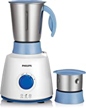 Philips Daily Collection HL7600 500-Watt Mixer Grinder with 2 Jar (White/Blue)