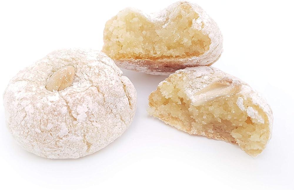 Rarezze ,paste di mandorla siciliane al limone di sicilia (box gr.400)