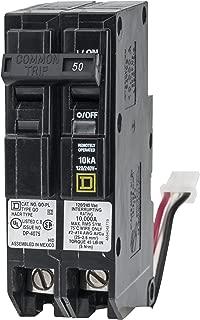 Schneider Electric QO250PLILC QO ILC PowerLink Circuit Breaker 2-Pole, 120/240Vac, 50-Amp 10 kA AIR