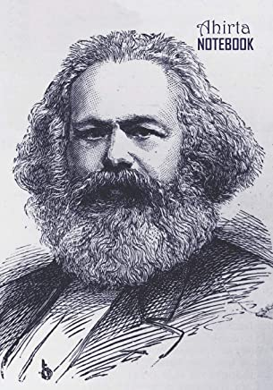 Notebook: Karl Marx Medium College Ruled Notebook 129 pages Lined 7 x 10 in (17.78 x 25.4 cm)