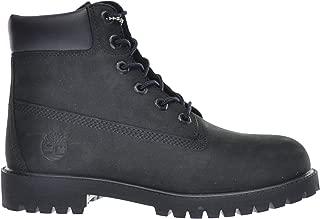 Big Kids 6 Inch Premium Waterproof Boots Black 12907