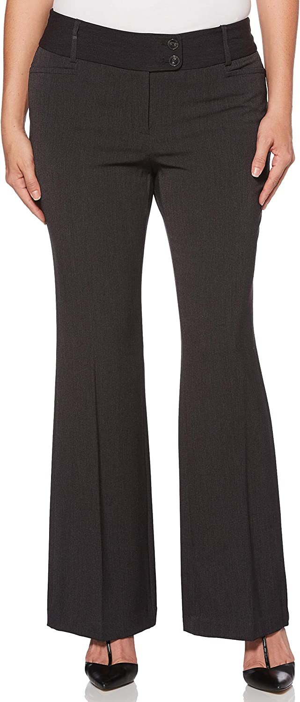 Rafaella Women's Petite Size Curvy-fit Gabardine Trouser at  Women's Clothing store
