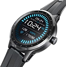 Smart Watch, Virmee VG3 Fitness Tracker 42mm HD TFT Touch Screen, Heart Rate, Sleep, Blood Oxygen, Step, Stress, IP68 Waterproof Pedometer Smartwatch for Men Women, Compatible iPhone Android Samsung