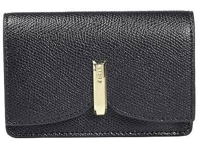 Furla Ribbon Small Bus Coin Card Case (Nero) Handbags