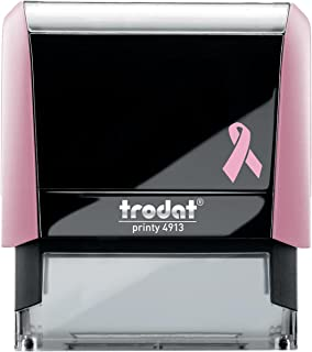 Breast Cancer Awareness New York Notary Stamp   2.3x0.81 Inch Rectangular Imprints - Self Inking