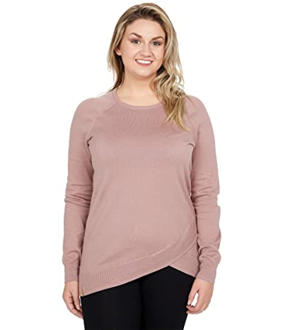 tentree Highline Cotton Acre Sweater (Twilight Mauve) Women
