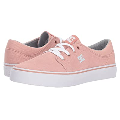 DC Kids Trase (Little Kid/Big Kid) (Peach Parfait) Girls Shoes