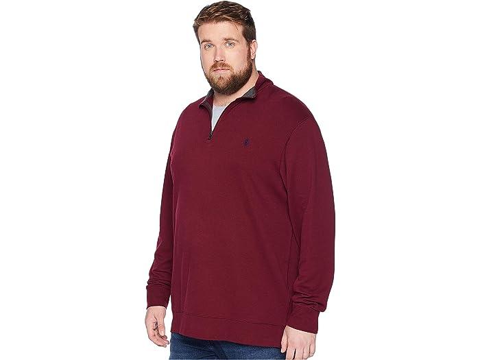 Polo Ralph Lauren Big & Tall Luxury Jersey 1/2 Zip