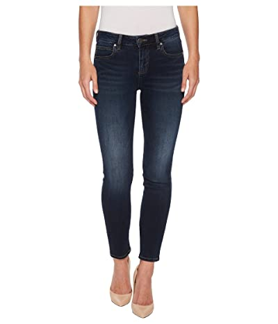 KUT from the Kloth Diana Kurvy Skinny in Likable (Likable/Dark Stone Base Wash) Women